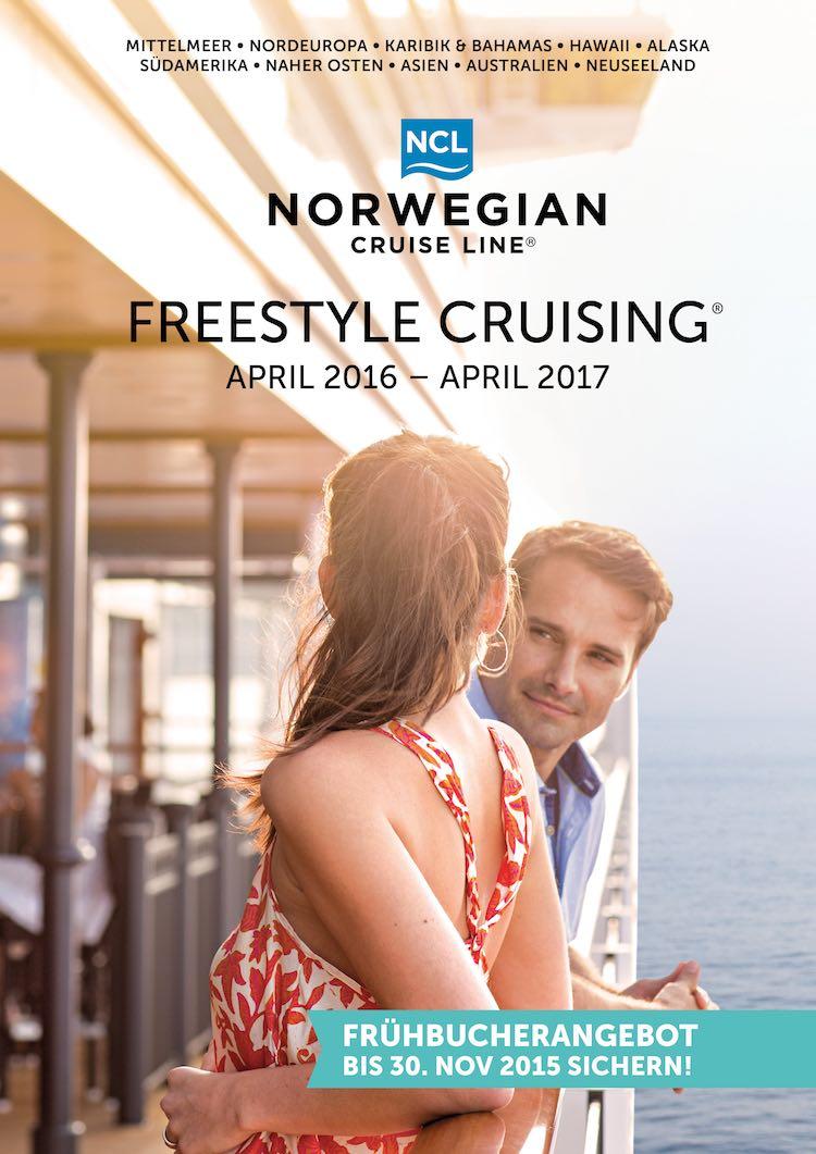 NCL Katalog 2016/2017 / © Norwegian Cruise Line