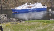 Zweites Expeditionsschiff für Iceland Pro Cruises