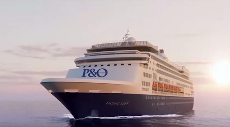 Pacific Eden (ex MS Statendam) / © P&O Australia (Youtube)
