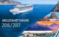 "Princess Cruises: Neuer Katalog 2016/2017 ""Fire & Ice"""