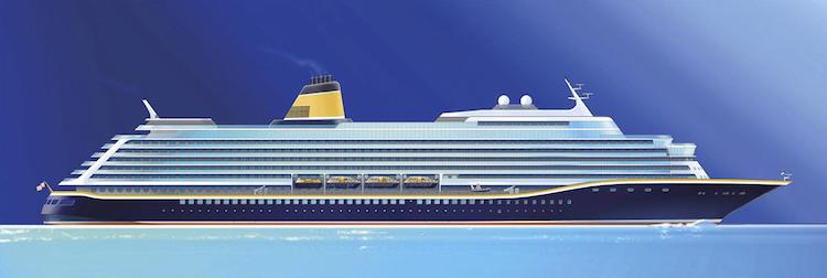Spirit of Discovery für Saga Cruises wird im Baudock 1 gebaut / © Meyer Werft