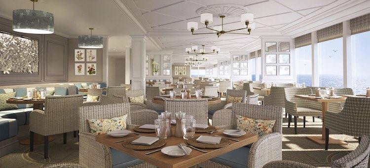 Restaurant des Saga Cruises Neubau / © Meyer Werft