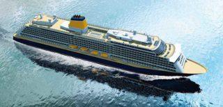 Saga Cruises Neubau aus der Papenburger Meyer Werft / © Saga Cruises