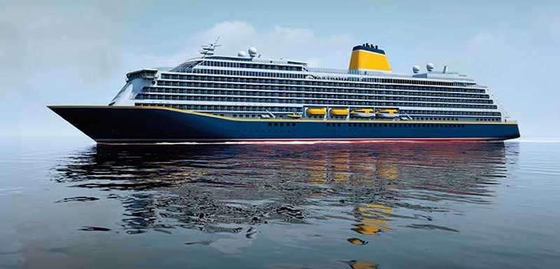Spirit of Discovery - der erste Neubau für Saga Cruises von der Meyer Werft / © Saga Cruises