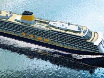 Spirit of Adventure - Stahlschnitt auf der Meyer Werft / © Saga Cruises