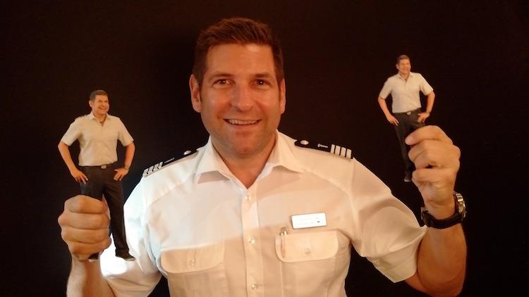 Kleine AIDA-Kreuzfahrtdirektoren: Das Ergebnis des 3D Scanners / © AIDA Cruises