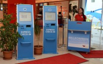 Express-Checkin mit Automaten bei AIDA Cruises