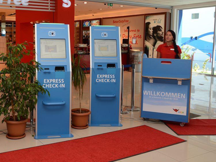 AIDA Express Checkin in 30 Sekunden / © AIDA Cruises