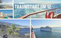 AIDA Traumstart um 12: April-Angebote mit Flügen