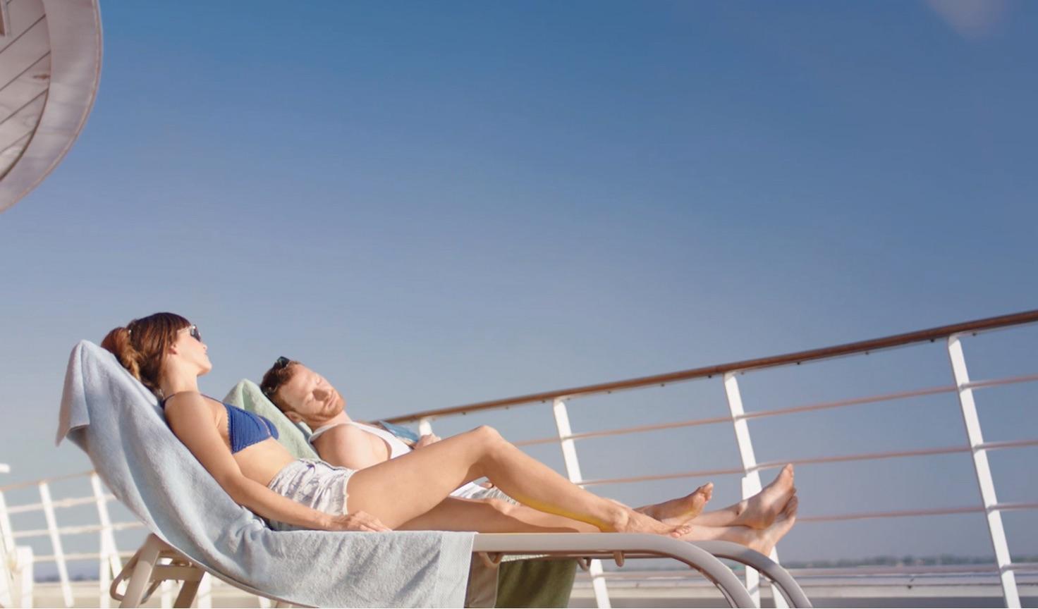 AIDA Werbekampagne © AIDA Cruises