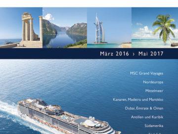 MSC Katalog 2016/2017 - zweite Auflage / © MSC Kreuzfahrten