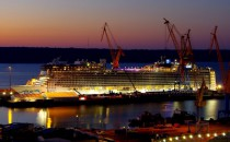 Bilder & Video: Norwegian Epic eindocken bei Damen Shipyards