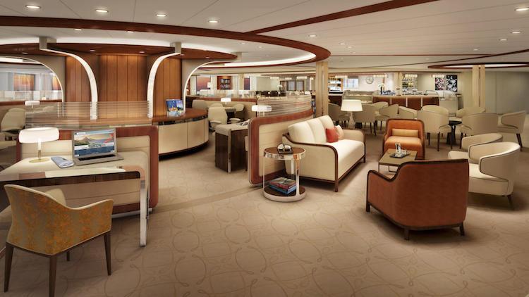 Seabourn Square der Seabourn Encore / © Seabourn Cruise Line
