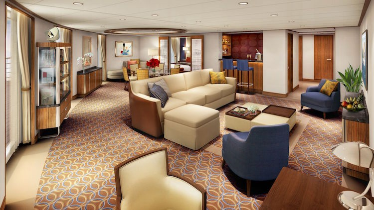 Signature Suite der Seabourn Encore / © Seabourn Cruise Line