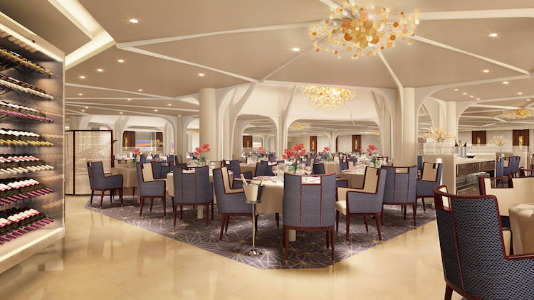 The Restaurant der Seabourn Encore / © Seabourn Cruise Line