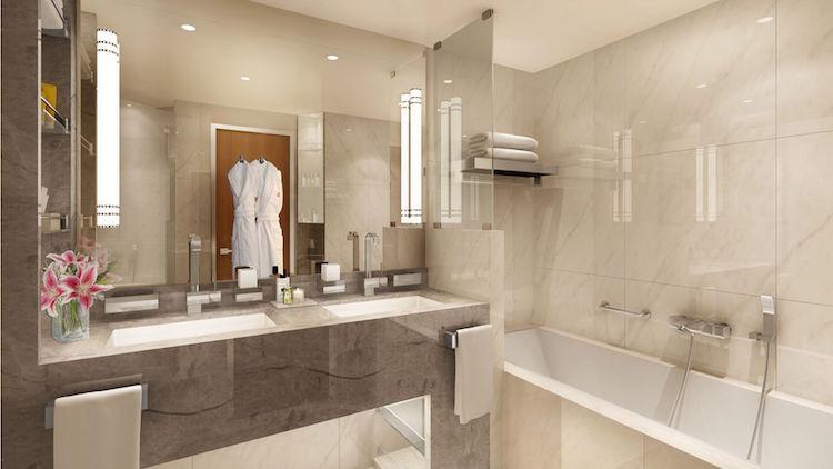 Veranda Suite Badezimmer der Seabourn Encore / © Seabourn Cruise Line