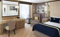 Neu: Queen Mary 2 bekommt 15 Einzelkabinen und 30 Club-Kabinen