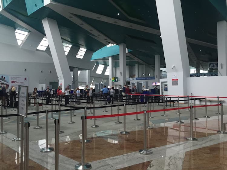 Check-in Singapur