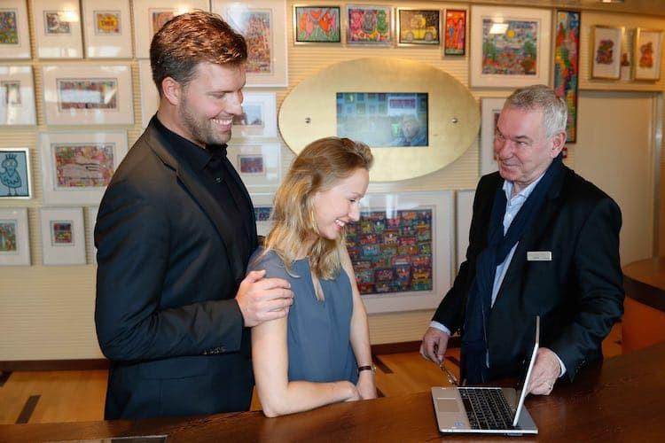 AIDA Kunstgalerie nun auch digital auf See und im Onlineshop / © AIDA Cruises
