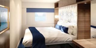 Die neuen Kabinen der Hurtigrutenschiffe / © Hurtigruten