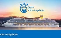 72 Stunden Sale: Costa Kreuzfahrten für 444 Euro