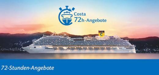 Costa 72 Stunden Angebot