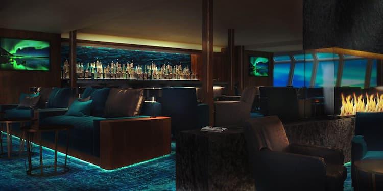 Auch die Panorama-Bar ist komplett neu bei den Postschiffen / © Hurtigruten