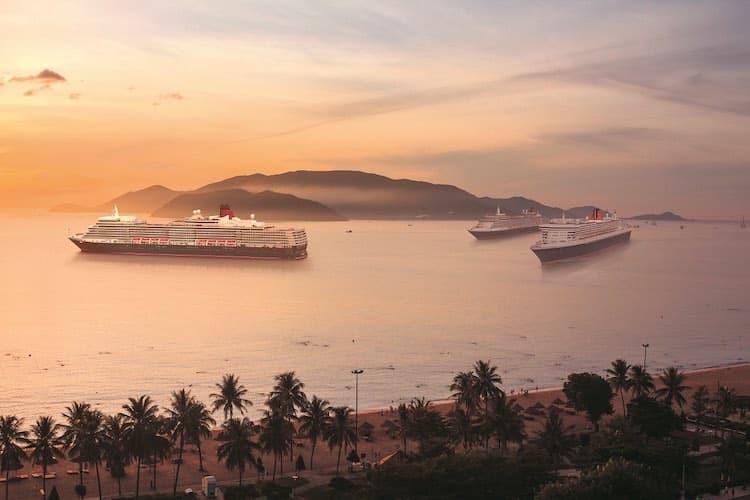 Die drei Queens der Cunard Line gehen wieder auf Weltreise / © Cunard Line