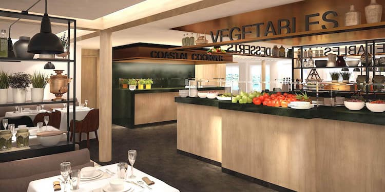 Die neuen Restaurants auf den Hurtigruten Kreuzfahrtschiffen / © Hurtigruten