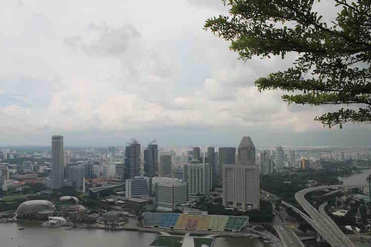 Singapur von oben