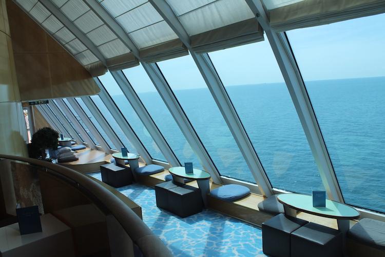 Ausblick X-Lounge Mein Schiff 1