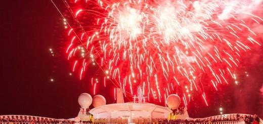 AIDA Silvesterfeuerwerk vor Funchal: Dieses Jahr mit Liveübertragung / © AIDA Cruises