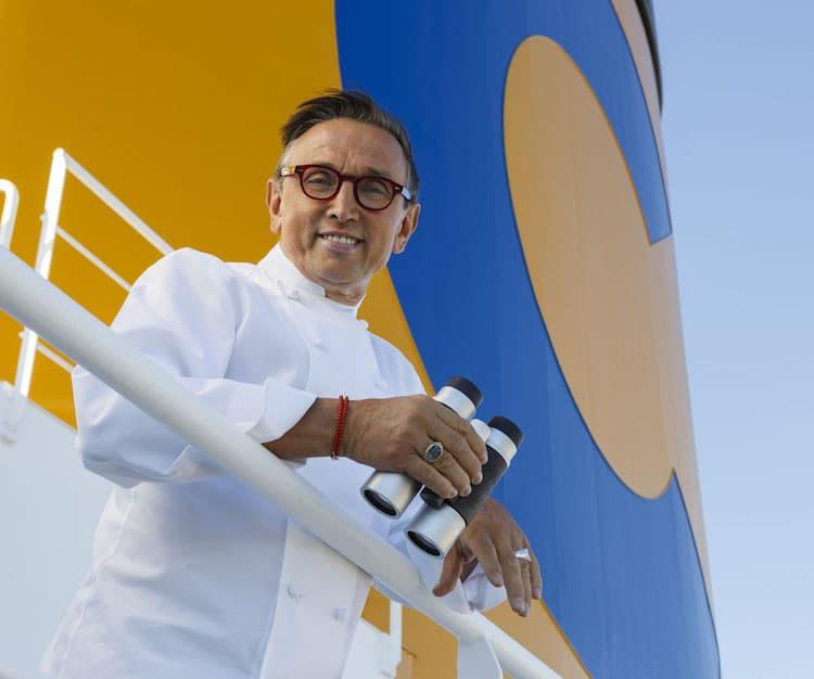 Bruno Barbieri kocht Gala-Menüs an Bord der Costa Kreuzfahrtschiffe / © Costa Crociere