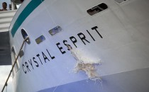 Luxus pur: Crystal Esprit wurde auf den Seychellen getauft