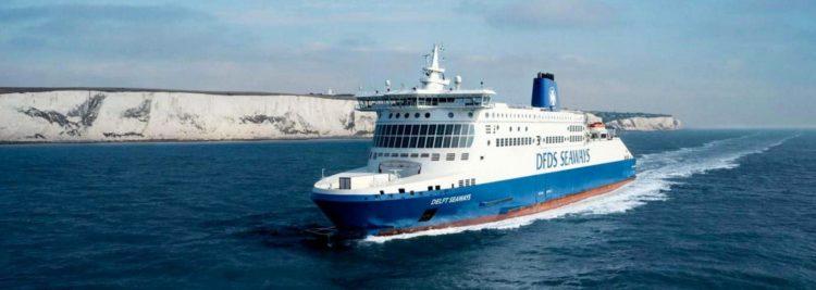 DFDS Ärmelkanal Fähre © DFDS