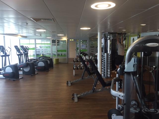 Fitnessstudio Mein Schiff 1