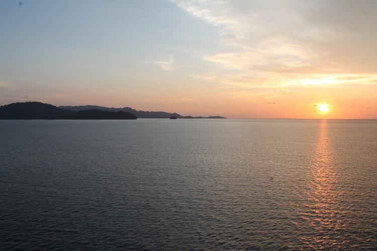 Land in Sicht - Langkawi