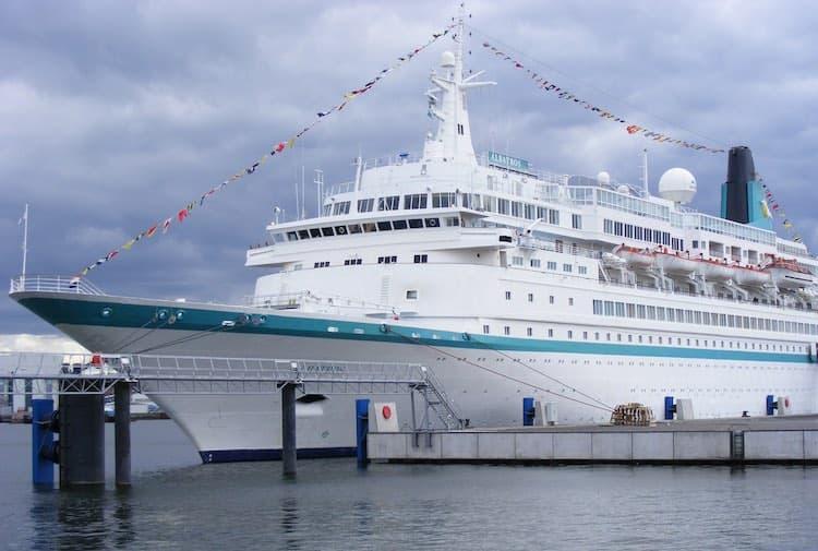 MS Albatros am Ostseekai in Kiel / © Port of Kiel
