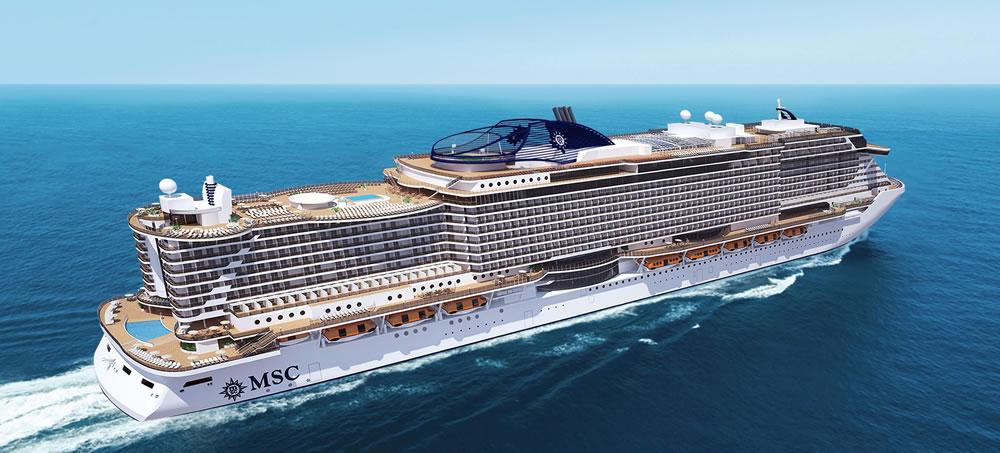 MSC Seaside wird von Samsung ausgerüstet / © MSC Kreuzfahrten