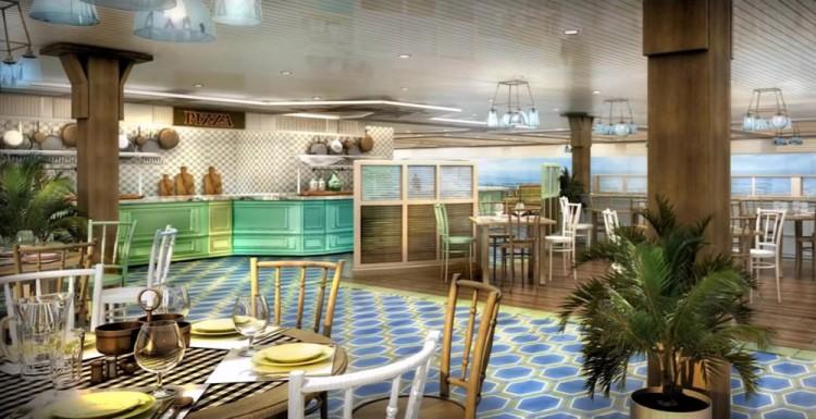 MSC Seaside Restaurant © MSC Kreuzfahrten