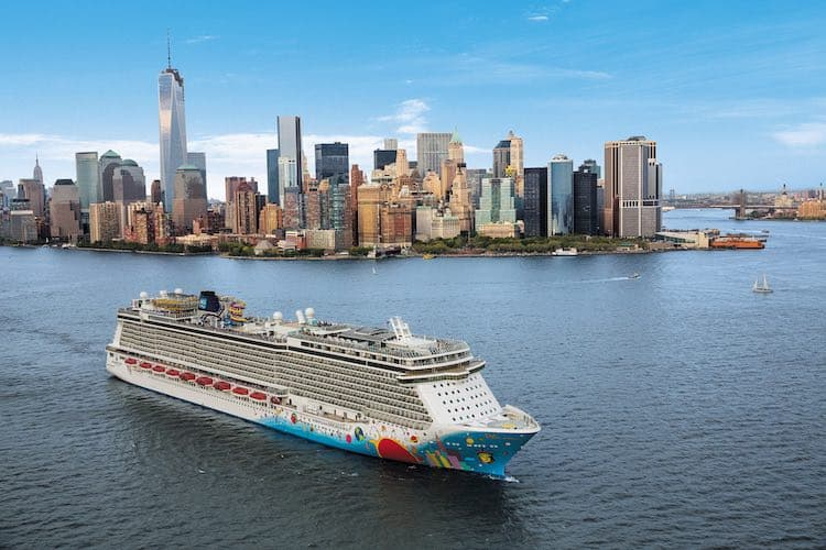 Norwegian Breakaway in New York / © Norwegian Cruise Line