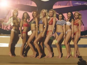 Zehn Playboy Models an Bord der Mein Schiff 4 / © TUI Cruises (Screenshot Video)