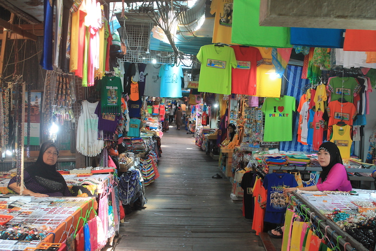 Shops in der Stelzenstadt