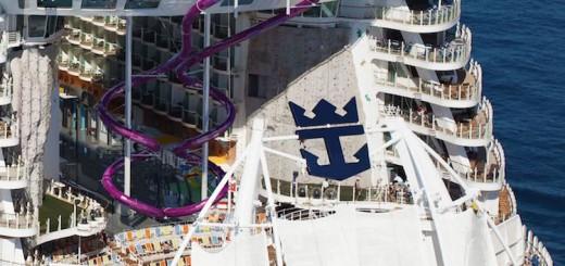 Ultimate Abyss: Die längste Rutsche der Welt auf einem Kreuzfahrtschiff - zu finden auf dem größten Kreuzfahrtschiff der Welt, der Harmony of the Seas / © Royal Caribbean