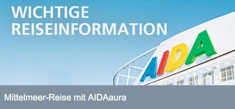 AIDAstella ersetzt AIDAaura im westlichen Mittelmeer im Sommer 2016 / © AIDA Cruises