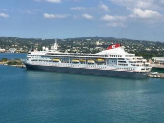 MS Braemar am 21.Januar 2016 in Montego Bay / Jamaika / © Foto: Oliver P. Mueller