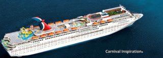 Carnival Inspiration wird modernisiert / © Carnival Cruise Line