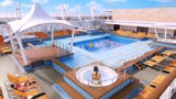Pooldeck der Genting Dream / © Dream Cruises (Genting)