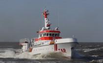 """DGzRS rettet verletzten Seeman von """"Containerships VII"""" in der Ostsee"""