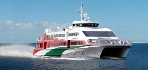 Der Holunderjet der Helgoline - auch ein Produkt der Förde Reederei Seetouristik / © FRS